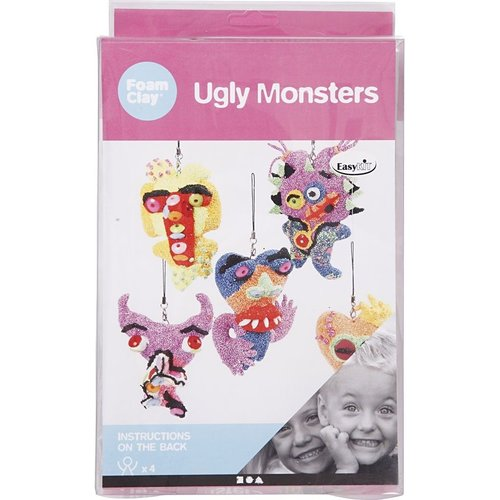 "Creativ Company Foam Clay® Set ""Hässliche Monsters"""