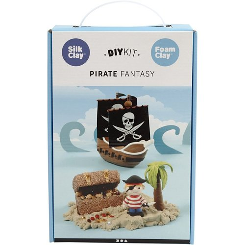 "Creativ Company Silk & Foam Clay® Set ""Piraten wereld"""