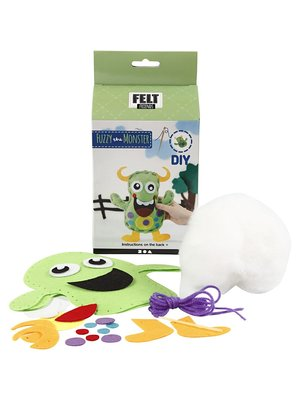 "Creativ Company Felt Friends Set ""Monster Fuzzy"""