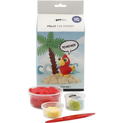 "Creativ Company Silk Clay® Set  ""Perroquet Polly"""