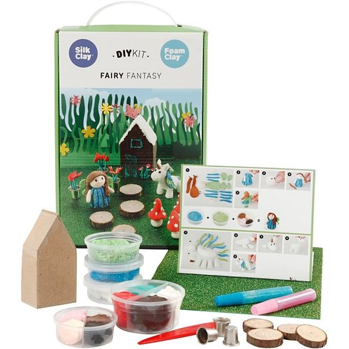 "Creativ Company Silk & Foam Clay® Set ""The Fairy World"""