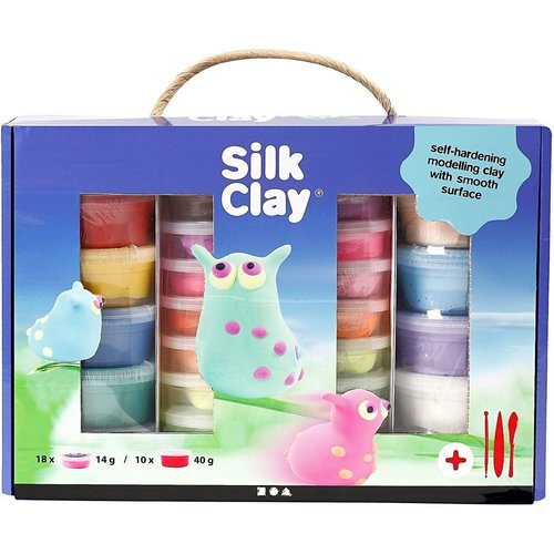 Creativ Company Silk Clay® Set Couleurs Assorties
