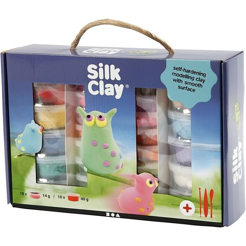 Creativ Company Silk Clay® Set Assorted Colors