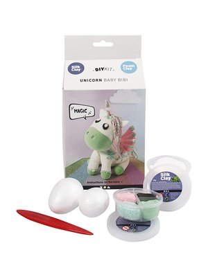 "Creativ Company Silk & Foam Clay® Set ""Unicorn Bibi"""