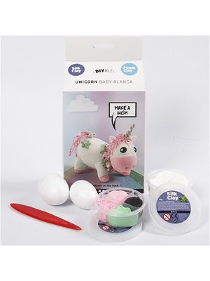 "Creativ Company Silk & Foam Clay® Set  ""Licorne"""