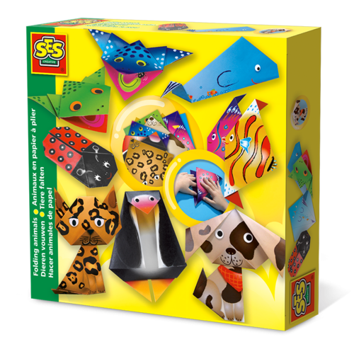 SES Creative SES Folding Animals Set