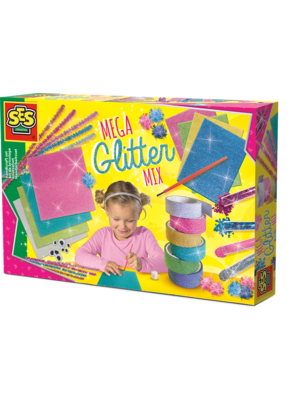 SES Creative SES Mega glitter handicraft set