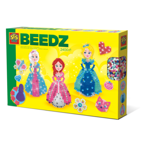 SES Creative SES Beedz - Iron on beads Princesses diamond