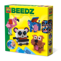 SES Beedz - Iron on beads 3D animal boxes