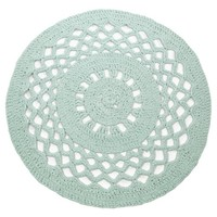 Hoooked -RibbonXL Crochet Round Rug Early Dew