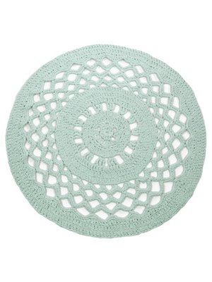 Hoooked Hoooked -RibbonXL Crochet Round Rug Early Dew