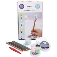 "Silk & Foam Clay® Set ""Einhorn-Bleistift"""