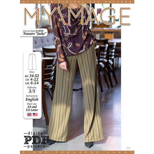 "Download S1059 Trousers ""Jacky"""