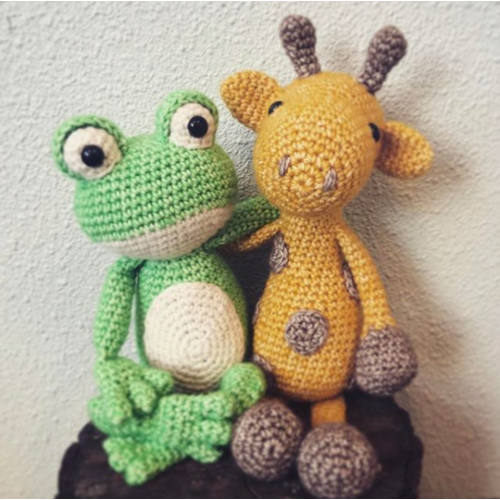 Hardicraft Set de crochet Grenouille Vinny