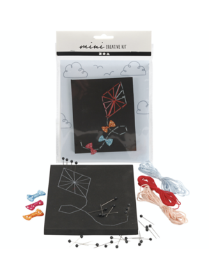 "Creativ Company Mini Kreativ-Set ""String Art Drache"""