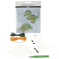 "Mini Creatieve Set ""Dino borduren"""