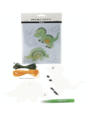 "Creativ Company Mini Kreativ-Set ""Dino stricken"""