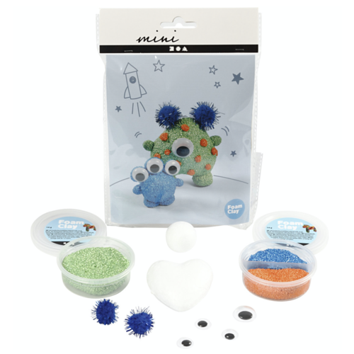 "Creativ Company Mini Creative Kit ""Modelling aliens"""