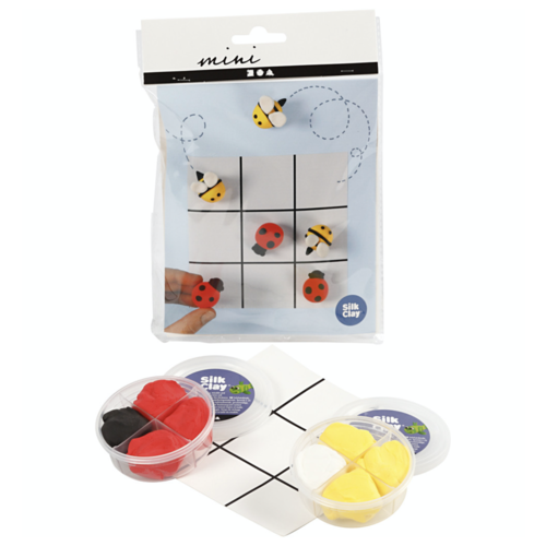 "Creativ Company Mini Kreativ-Set ""Tic Tac Toe modellieren"""