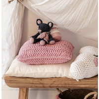 Hoooked -RibbonXL Crochet Kit Cushion Sweet Pink