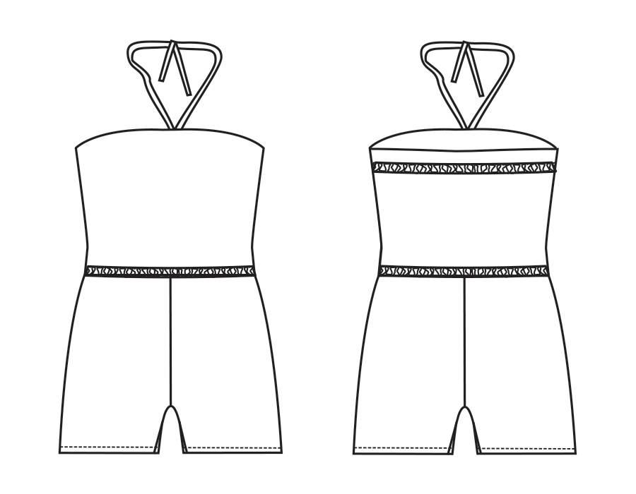 """S1001 Jumpsuit """"Chayenne"""""""
