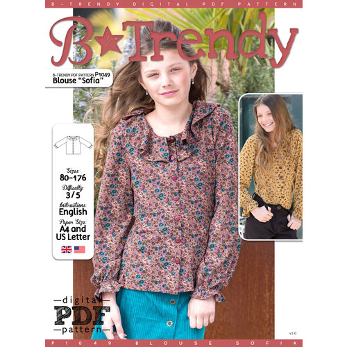 "Download P1049 Blouse ""Sofia"""