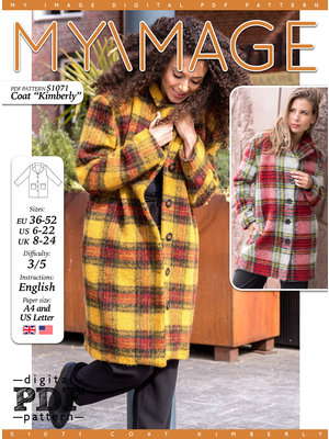 "Download S1071 Coat ""Kimberly"""