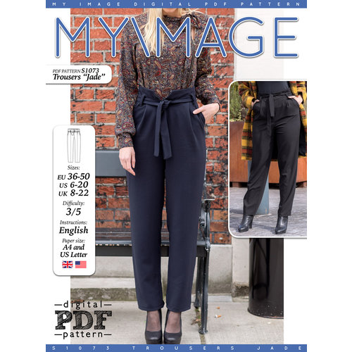 "Download S1073 Trousers ""Jade"""