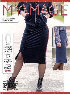 "Download S1074 Skirt ""Anna"""