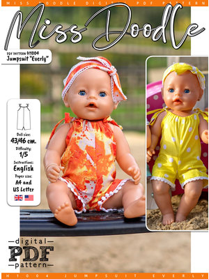 "Download H1004 Jumpsuit ""Everly"""