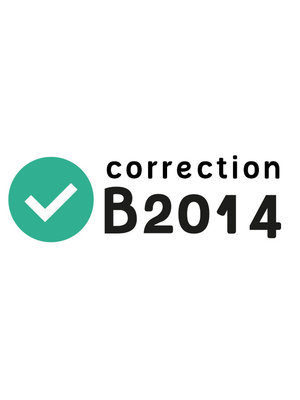 Correction B2014