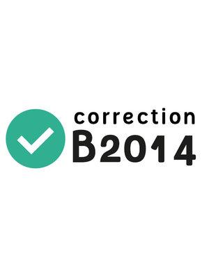 Rectificatie B2014
