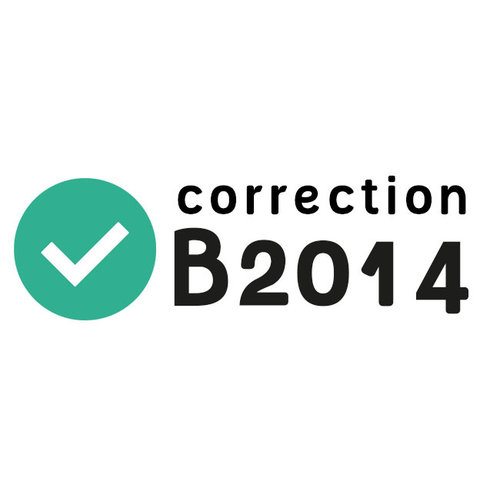 Rectificatie B2014