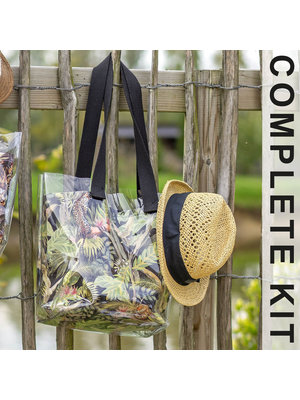 DIY Kit Kit de couture H1003 Sac Jungle + magazine gratuit