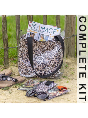 Miss Doodle Sewing kit H1003 Bag Panther + free magazine