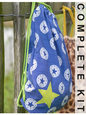 Miss Doodle Sewing kit D2012 Backpack Stars + free magazine