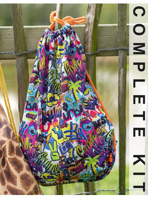 Miss Doodle Kit Sewing kit D2012 Backpack Streetstyle + free magazine