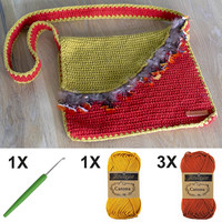 Kit de crochet C1003 Sac Rouge