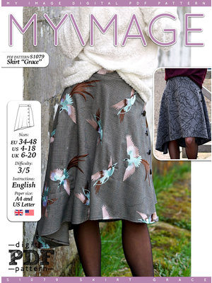 "Download S1079 Skirt ""Grace"""