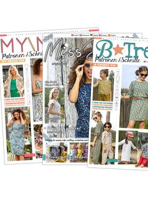 Magazine Éditions d'été récentes + patron gratuit!