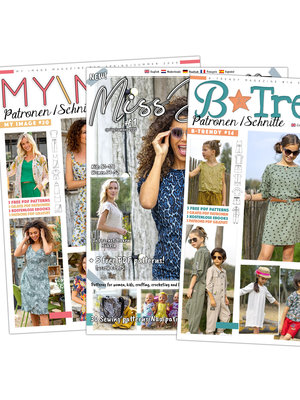 Magazine The latest editions + free pattern!