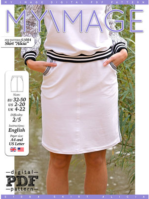 "Download S1079 Skirt ""Grace""  - Copy"