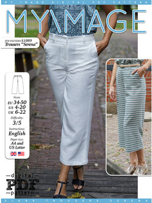 "Download S1089 Trousers ""Serena"""