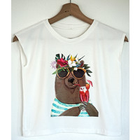 Sewing kit H1002 Shirt Bear