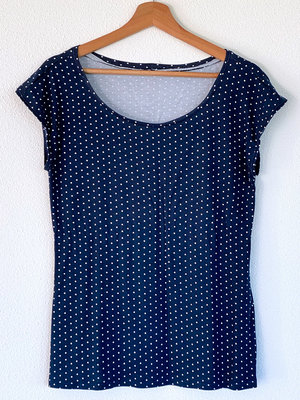 DIY Kit Nähset S1097 Shirt Dots + Gratis Heft