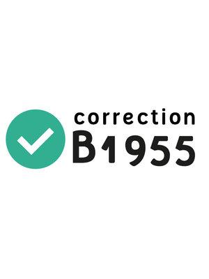 Rectificatie B1955