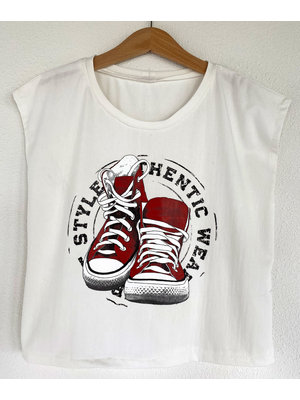 DIY Kit Sewing kit H1002 Shirt Sneakers + free magazine