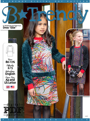 "Download P1073 Dress ""Ellie"""