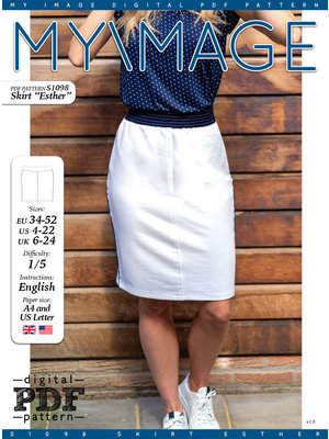"Download S1098 Skirt ""Esther"""