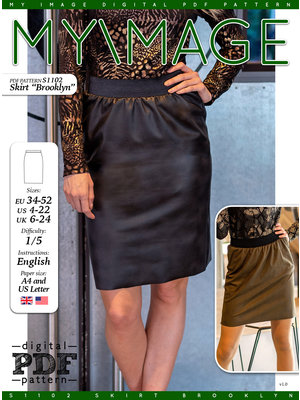 "Download S1102 Skirt ""Brooklyn"""
